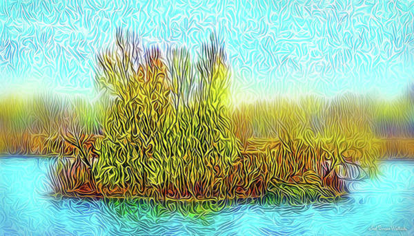 Digital Art - Sunrise Island Light by Joel Bruce Wallach