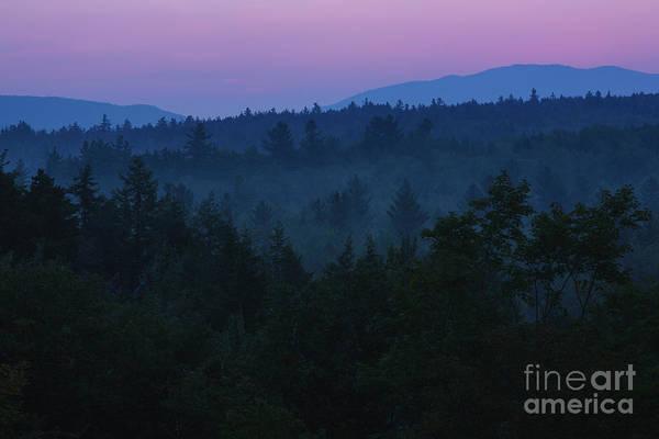 Photograph - Sunrise - Kancamagus Highway, New Hampshire by Erin Paul Donovan