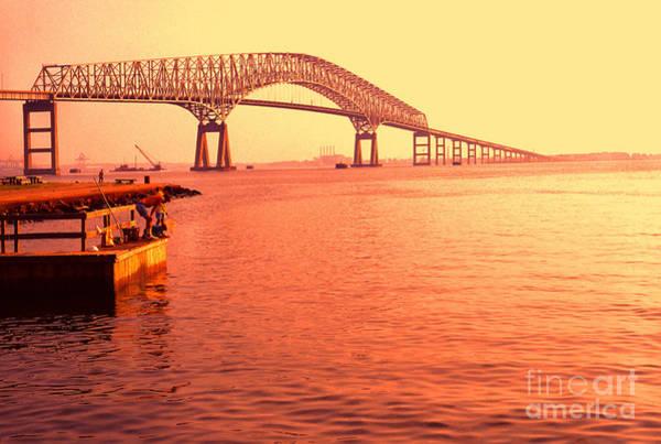 Photograph - Sunrise Key Bridge by Thomas R Fletcher