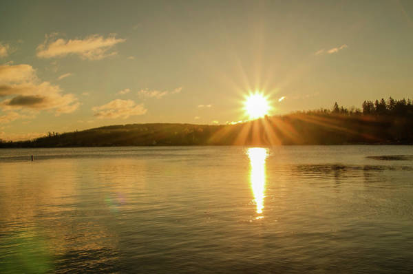 Wall Art - Photograph - Sunrise Lake Harmony - Splitrock by Bill Cannon
