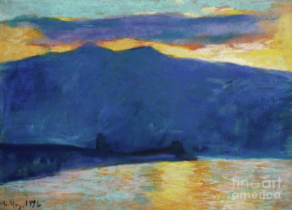 Wall Art - Pastel - Sunrise by Lesser Ury