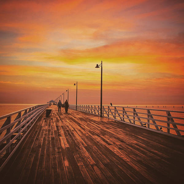 Photograph - Sunrise Lovers by Keiran Lusk