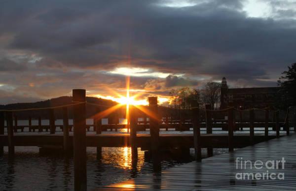 Sunrise Meredith Bay Docks 1 Art Print