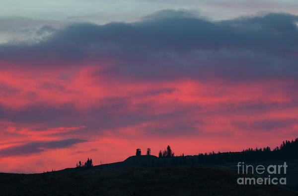 Photograph - Sunrise Mine by Steve Krull