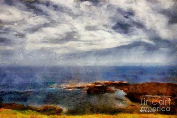 Painting - Sunrise Mist by RC DeWinter