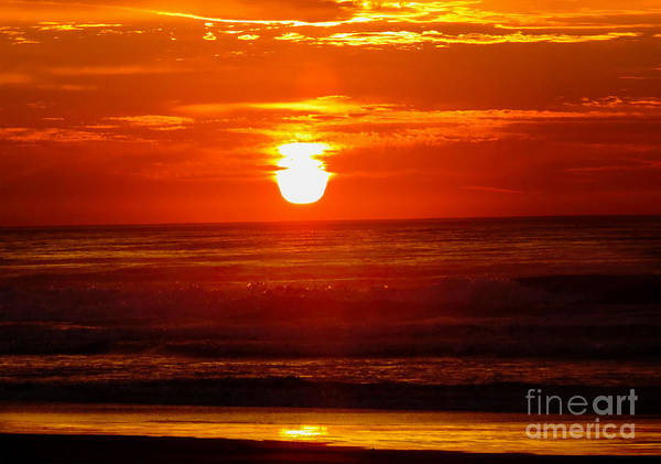 Photograph - Sunrise Mongagua by James Hennis