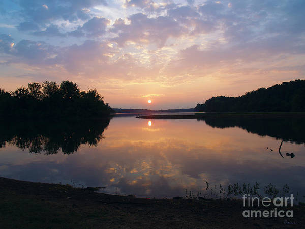 Sunrise Morning Bliss 152b Art Print