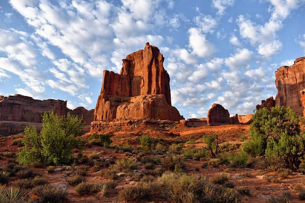 Doona Mixed Media - Sunrise On Arches National Park Utah 16 by Thomas Woolworth