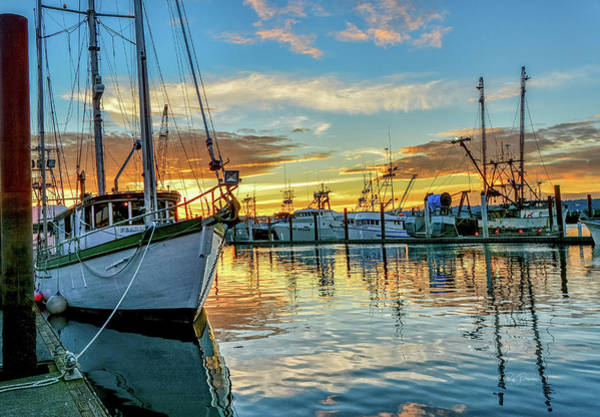 Photograph - Sunrise On Bay by Bill Posner