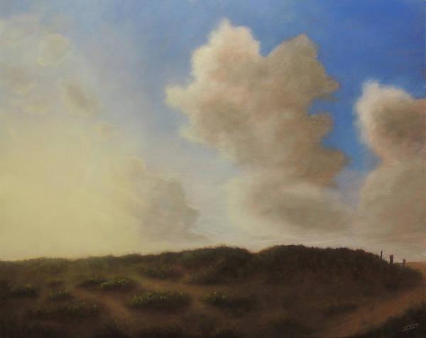 Painting - Sunrise On Crystal Beach by David Swint