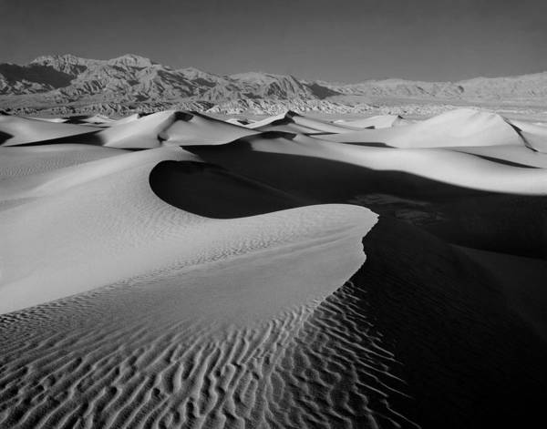 Photograph - 2a6856-bw-sunrise On Death Valley  by Ed  Cooper Photography