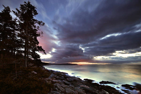 Photograph - Sunrise On Frenchmans Bay by John Meader