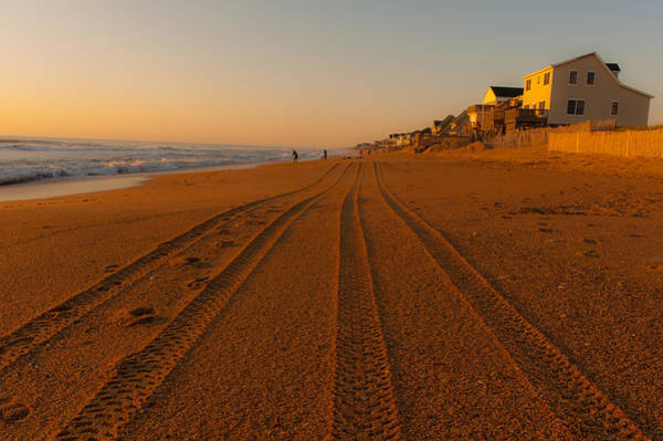 Photograph - Sunrise On Kitty Hawk by Brenda Jacobs