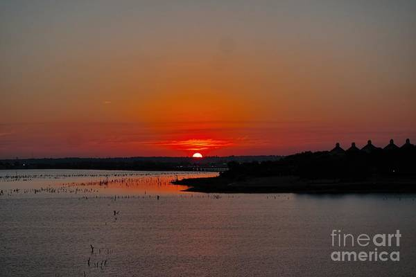 Sunrise On Lake Ray Hubbard Art Print