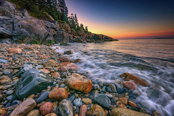 Photograph - Sunrise On Little Hunters Beach by Rick Berk