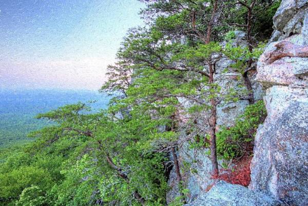 Photograph - Sunrise On Mount Cheaha by JC Findley