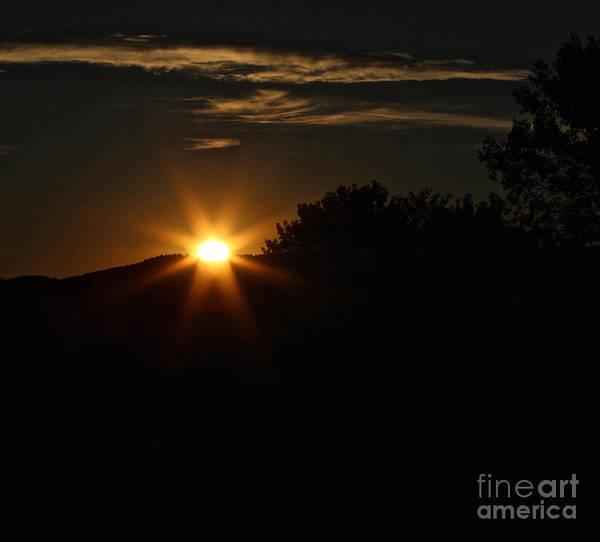 Photograph - Sunrise On Saddle Mountain Road by Ann E Robson