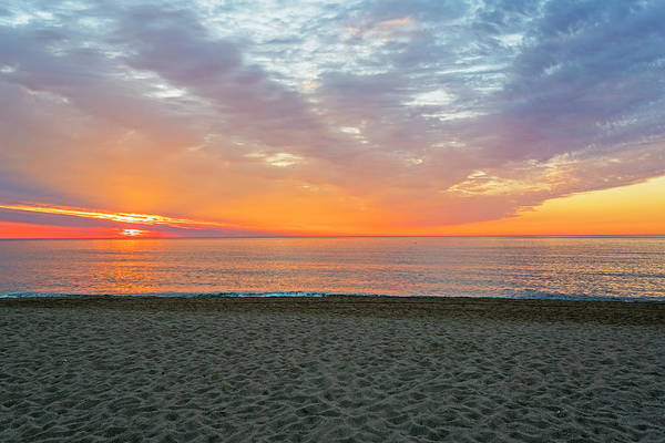 Photograph - Sunrise On Salisbury Beach North Shore Massachusetts by Toby McGuire