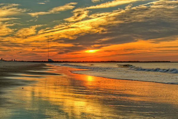Wall Art - Photograph - sunrise on the bay of Cape May NJ by Geraldine Scull