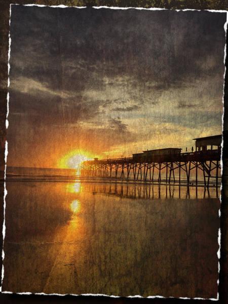 Photograph - Sunrise On The Beach by Alice Gipson
