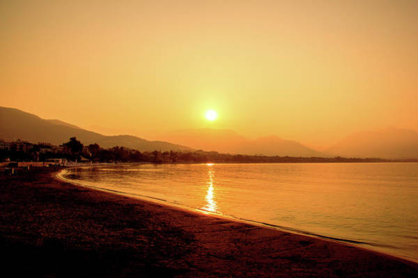 Photograph - Sunrise On The Beach Of Alanya by Sun Travels