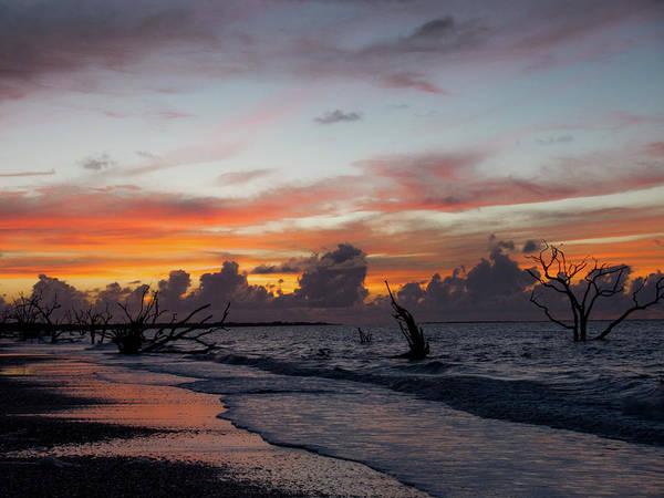 Photograph - Sunrise On The Boneyard by Randy J Heath