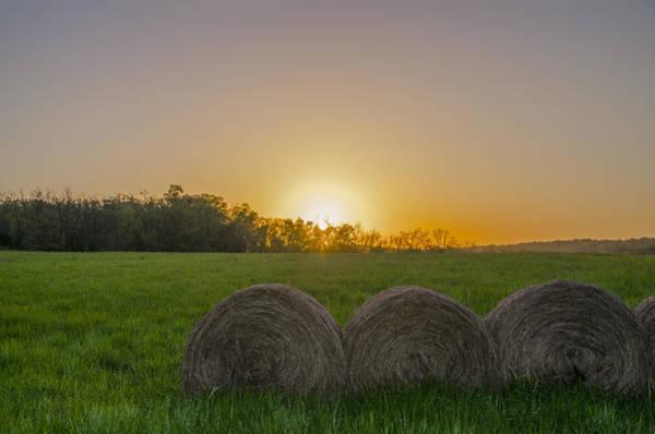 Photograph - Sunrise On The Farm by Bill Cannon