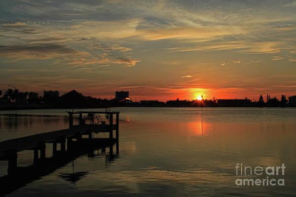 Photograph - Sunrise On The Halifax by Deborah Benoit