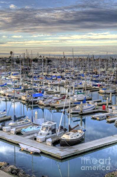 Photograph - Sunrise On The Harbor by Mathias