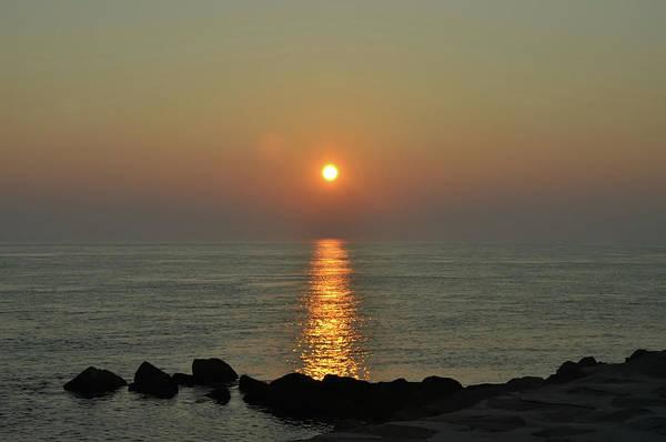 Jetti Wall Art - Photograph - Sunrise On The Jetti by Bill Cannon