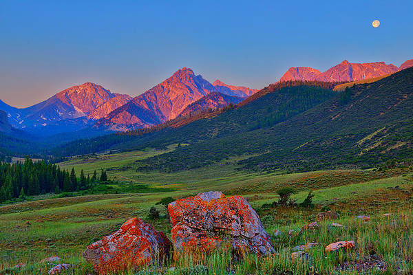 Photograph - Sunrise On The Lost River Range by Greg Norrell