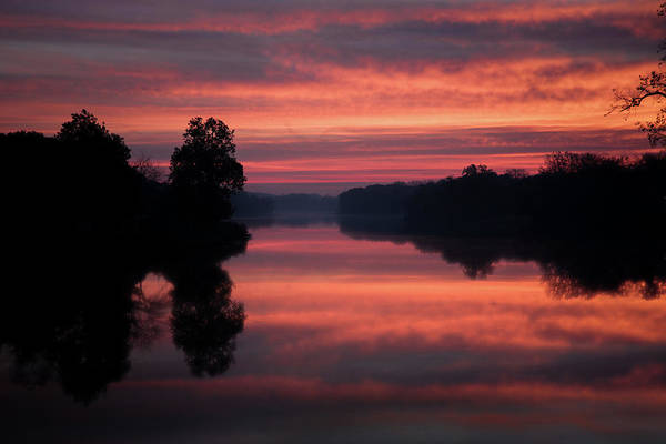 Photograph - Sunrise On The Maumee  by Michael Arend