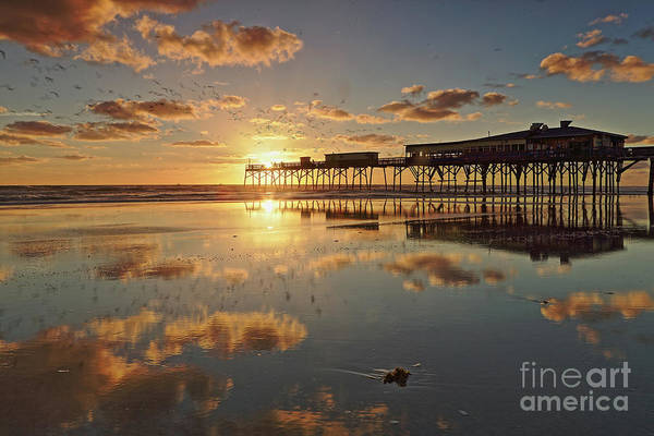 Wall Art - Photograph - Sunrise On The Pier by Rick Mann