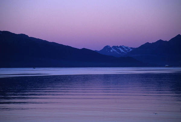 Gulf Of Alaska Photograph - Sunrise On The Prince William Sound by Stacy Gold