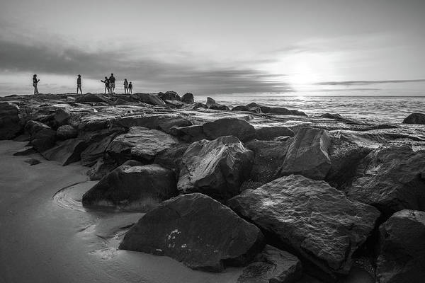 Photograph - Sunrise On The Rocks by Kristopher Schoenleber