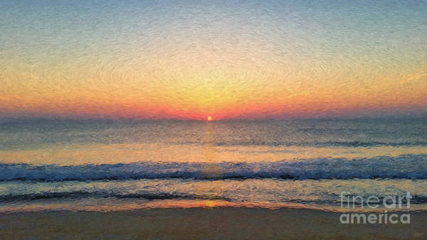 Photograph - Sunrise Outer Banks Obx by Jeff Breiman