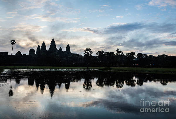 Photograph - Sunrise Over Angkor Wat In Cambodia by Didier Marti