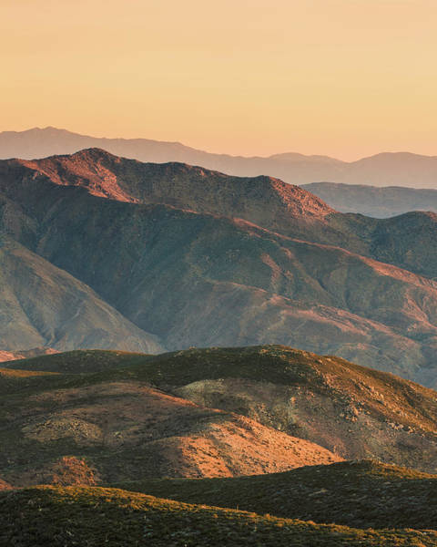 Wall Art - Photograph - Sunrise Over Anza Borrego by Joseph Smith