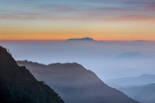 Rauch Wall Art - Photograph - Sunrise Over Bromo National Park - Java by Joana Kruse