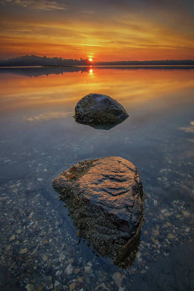 Photograph - Sunrise Over Casco Bay by Kristen Wilkinson