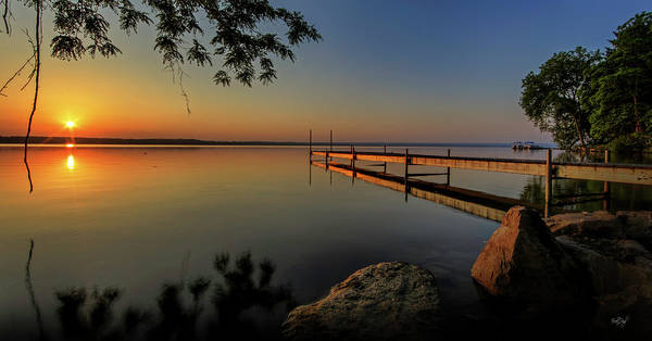 Wall Art - Photograph - Sunrise Over Cayuga Lake by Everet Regal
