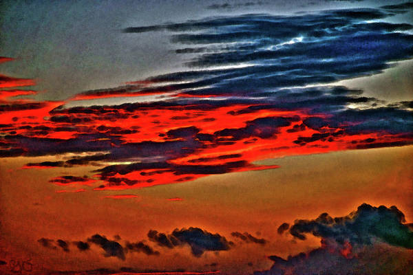 Sunrise Over Daytona Beach Art Print