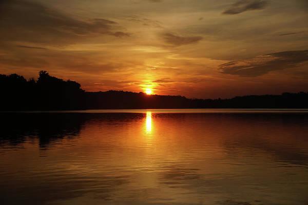 Photograph - Sunrise Over Deer Creek by Mike Murdock