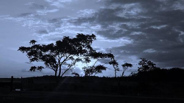 Photograph - Sunrise Over Fort Salonga Cyan by Rob Hans