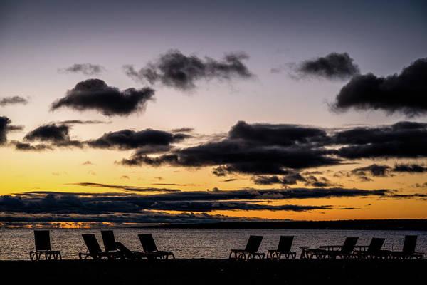 Photograph - Sunrise Over Lake Huron by Onyonet  Photo Studios