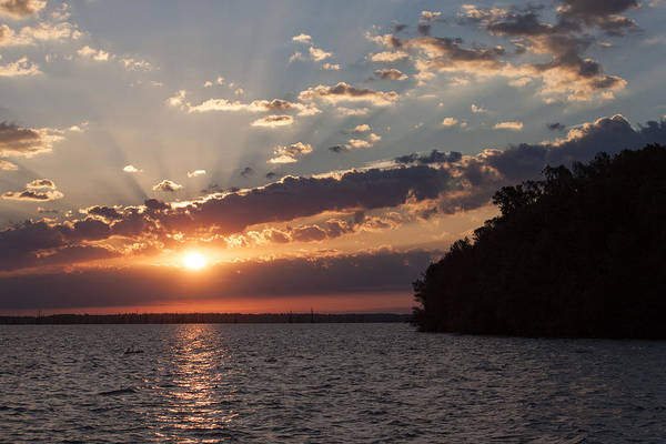 Wall Art - Photograph - Sunrise Over Lake Marion by Suzanne Gaff