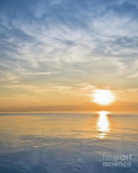 Sunrise Over Lake Michigan In Chicago Art Print