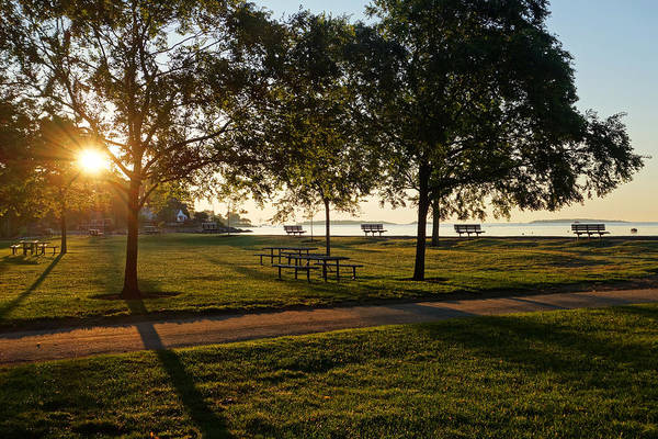Photograph - Sunrise Over Lynch Park Beverly Ma by Toby McGuire