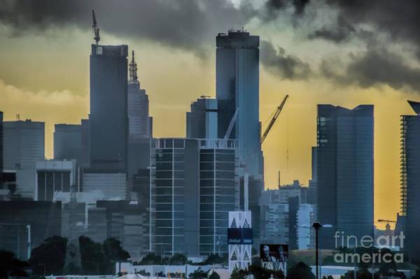 Photograph - Sunrise Over Melbourne by Diana Mary Sharpton