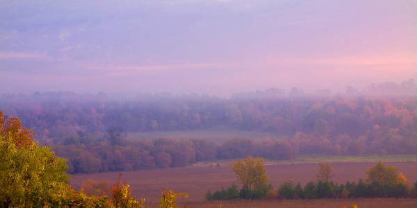 Photograph - Sunrise Over Mid Valley 2 by David Heilman